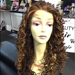Accessories - Swisslace Lacefront Long Curly Wig